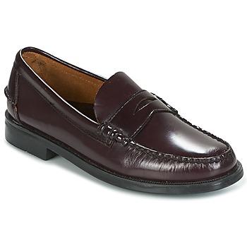 kengät Miehet Mokkasiinit Sebago GRANT AUBERGINE