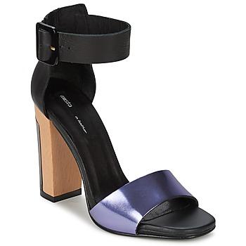 kengät Naiset Sandaalit ja avokkaat Miista LILY Black / Laventeli
