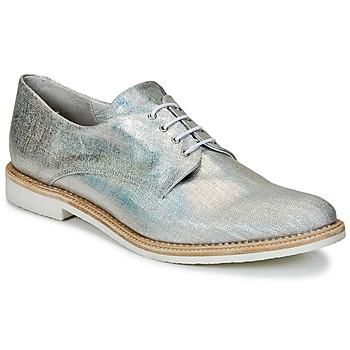 kengät Naiset Derby-kengät Miista ZOE Hopea