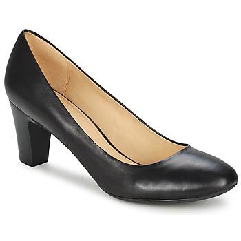 kengät Naiset Korkokengät Geox MARIELE MID Black