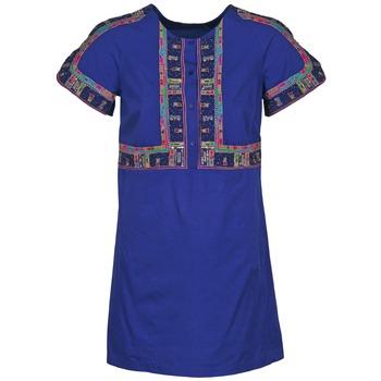 vaatteet Naiset Lyhyt mekko Antik Batik EMILIE Laivastonsininen