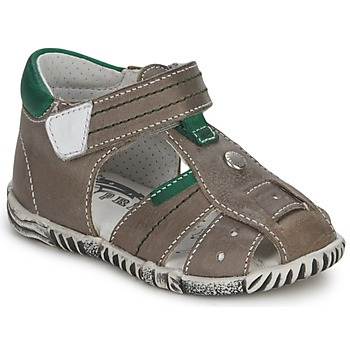 kengät Pojat Sandaalit ja avokkaat Primigi QUINCY Grey / Green