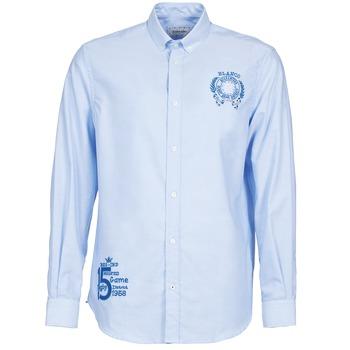 vaatteet Miehet Pitkähihainen paitapusero Serge Blanco ANTONIO Blue
