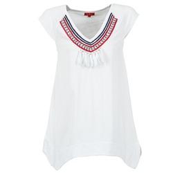 vaatteet Naiset Lyhythihainen t-paita Derhy GALION White