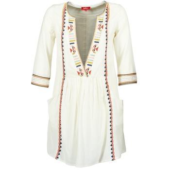 vaatteet Naiset Lyhyt mekko Derhy EMBOUCHURE Ecru