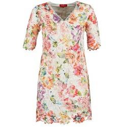 vaatteet Naiset Lyhyt mekko Derhy EBULLITION Ecru