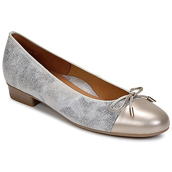 kengät Naiset Balleriinat Ara ELIALE Grey / Gold