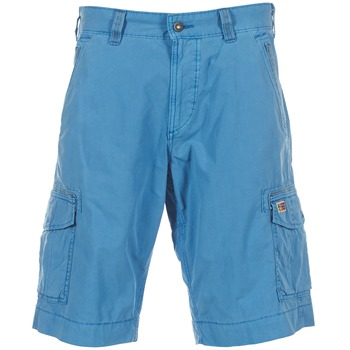 vaatteet Miehet Shortsit / Bermuda-shortsit Napapijri PORTES A Blue