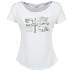 vaatteet Naiset Lyhythihainen t-paita Napapijri SINK White