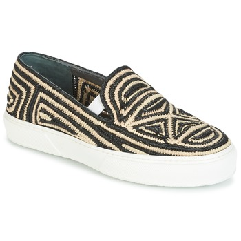 kengät Naiset Tennarit Robert Clergerie TRIBAL Black / Beige