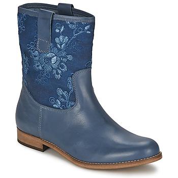kengät Naiset Bootsit Alba Moda FALINA Blue