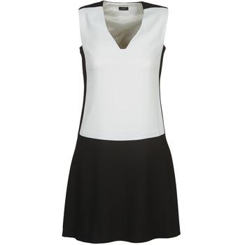 vaatteet Naiset Lyhyt mekko Joseph DORIA Black / White