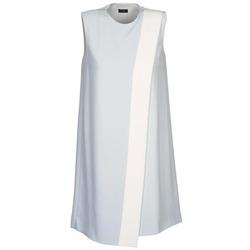 vaatteet Naiset Lyhyt mekko Joseph SOL Harmaa / Valkoinen