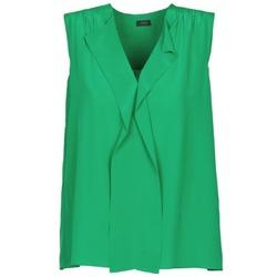 vaatteet Naiset Hihattomat paidat / Hihattomat t-paidat Joseph DANTE Green
