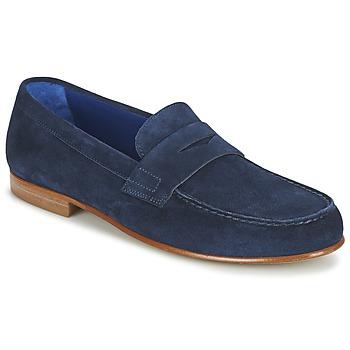 kengät Miehet Mokkasiinit Azzaro GOURIAN Laivastonsininen