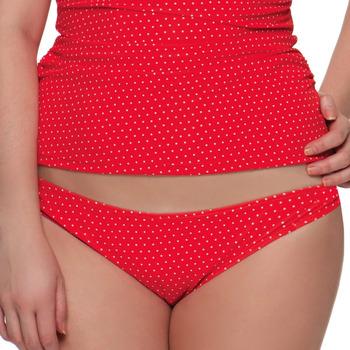vaatteet Naiset Bikinit Curvy Kate CS2705 FLAME SPOT Punainen