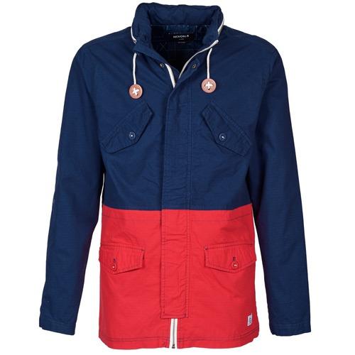 vaatteet Miehet Pusakka Nixon PI Laivastonsininen / Red
