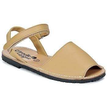 kengät Tytöt Sandaalit ja avokkaat Citrouille et Compagnie BERLA BEIGE