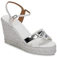 kengät Naiset Sandaalit ja avokkaat Castaner BESSIE White / Argenté