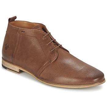 kengät Miehet Bootsit Kost ZEPI 47 COGNAC