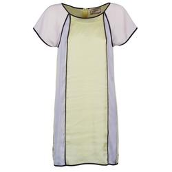 vaatteet Naiset Lyhyt mekko Chipie FREGENAL Yellow / Grey
