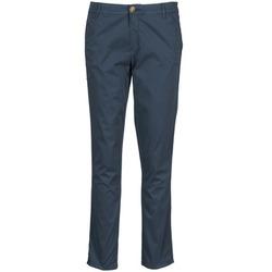 vaatteet Naiset Chino-housut / Porkkanahousut Chipie TOCINA Blue