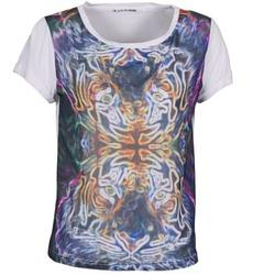 vaatteet Naiset Lyhythihainen t-paita DDP PORIX Monivärinen