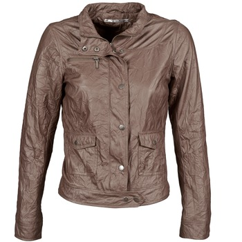 vaatteet Naiset Nahkatakit / Tekonahkatakit DDP GIRUP Brown