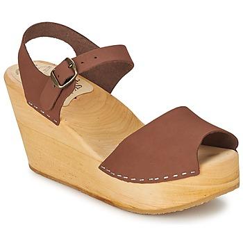 kengät Naiset Sandaalit ja avokkaat Le comptoir scandinave  Brown