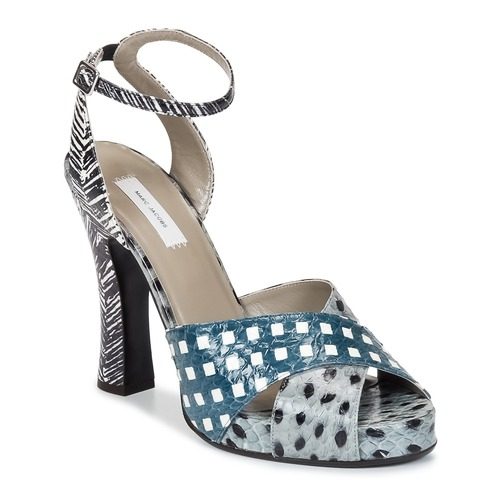 kengät Naiset Sandaalit ja avokkaat Marc Jacobs Elap Blue / White