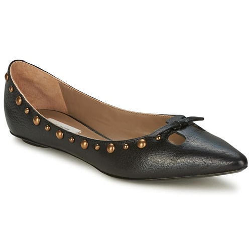 kengät Naiset Balleriinat Marc Jacobs Capra Black