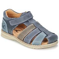 kengät Pojat Sandaalit ja avokkaat Citrouille et Compagnie ZIDOU Laivastonsininen / Grey