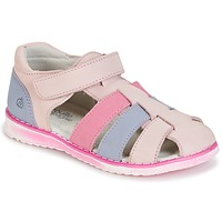 kengät Tytöt Sandaalit ja avokkaat Citrouille et Compagnie FRINOUI Pink / Blue / CLAIR / Fuksia