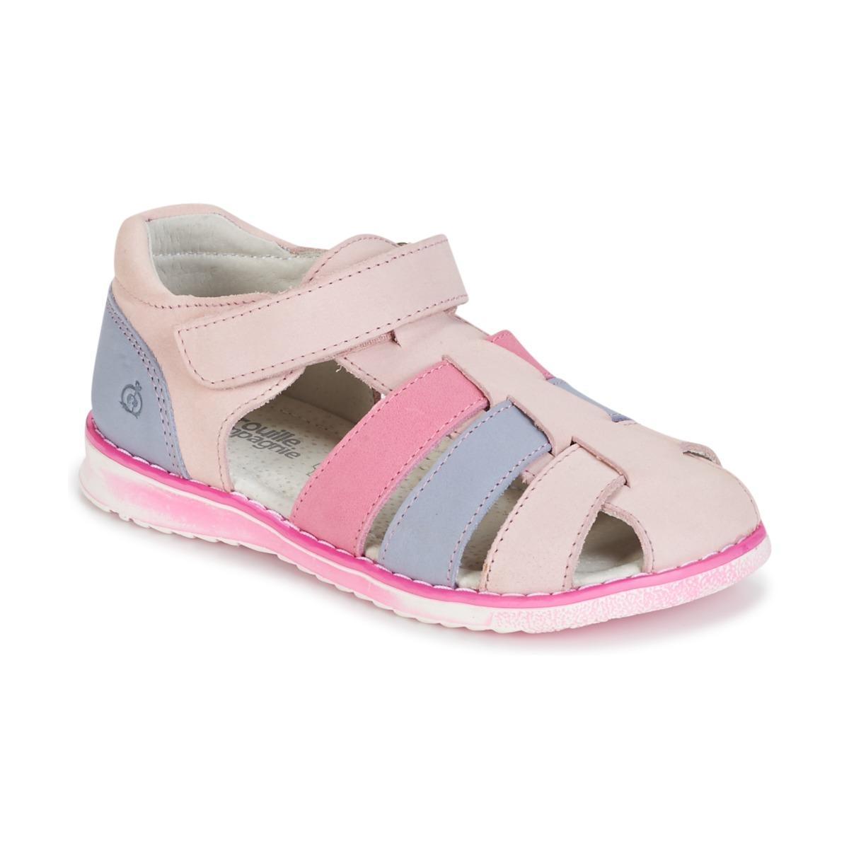 Sandaalit Citrouille et Compagnie FRINOUI Pink / Blue / CLAIR / Fuksia