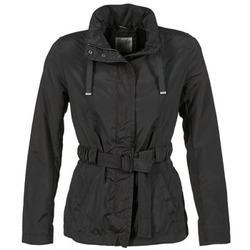 vaatteet Naiset Pusakka Geox MIKEL Black