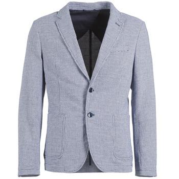 vaatteet Miehet Takit / Bleiserit Benetton CHEVOTU Blue