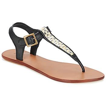 kengät Naiset Sandaalit ja avokkaat Koah MELL Black / Argenté