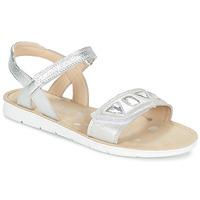 kengät Tytöt Sandaalit ja avokkaat Clarks MIMOMAGIC JUNIOR Argenté