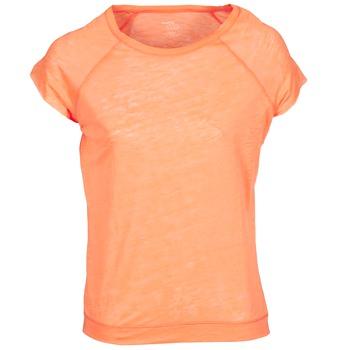 vaatteet Naiset Lyhythihainen t-paita Majestic 2105 Orange