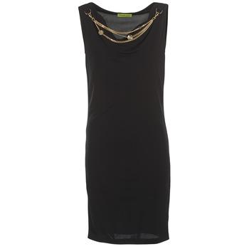 vaatteet Naiset Lyhyt mekko Versace Jeans NDM931 Black