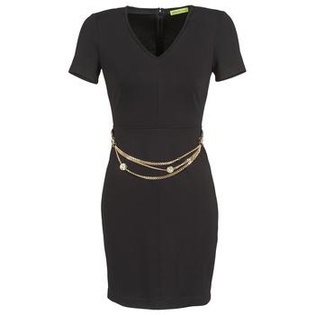 vaatteet Naiset Lyhyt mekko Versace Jeans NDM911 EASY Black