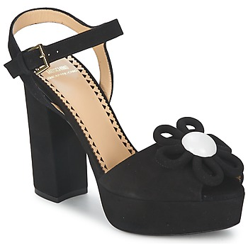kengät Naiset Sandaalit ja avokkaat Moschino Cheap & CHIC CA1617 Black