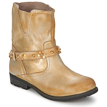 kengät Naiset Bootsit Moschino Cheap & CHIC CA21013 Gold