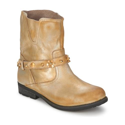 kengät Naiset Bootsit Moschino Cheap & CHIC CA21013 Kulta
