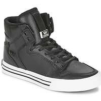 kengät Korkeavartiset tennarit Supra VAIDER CLASSIC Musta / Valkoinen