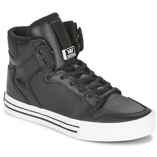 kengät Korkeavartiset tennarit Supra VAIDER CLASSIC Black / White