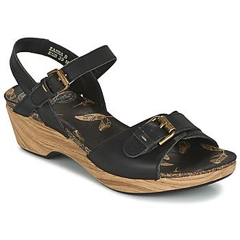 kengät Naiset Sandaalit ja avokkaat Panama Jack LAURA Black