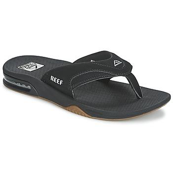 kengät Miehet Varvassandaalit Reef FANNING Black / Agent