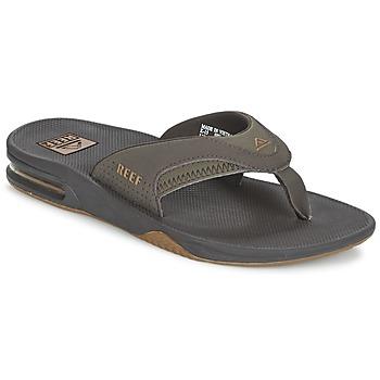 kengät Miehet Varvassandaalit Reef FANNING Grey