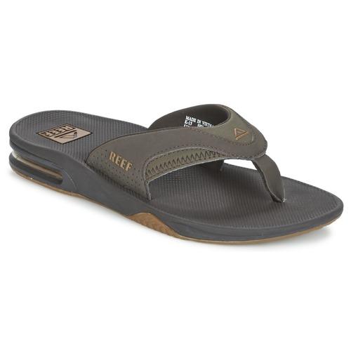 kengät Miehet Varvassandaalit Reef FANNING Brown